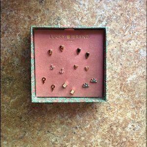 Brand new Lucky Brand earring set